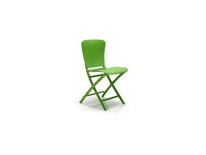 Židle skládací Zac zelená