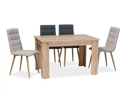Stůl AVIS barva dub sonoma 120x80x75