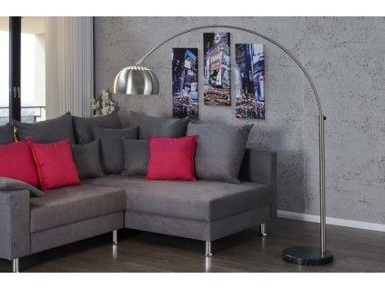 Lampa stojanová SLACK chromovaná 170-210