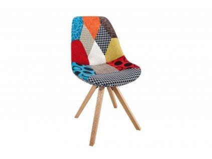Židle HUGO WOOD patchwork