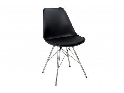 Židle HUGO černá