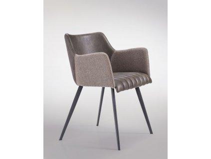 Židle Jeff M hnědá