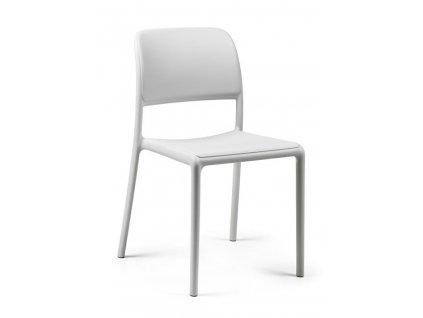 Židle Riva bílá