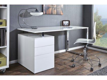 Psací stůl COMPACT bílý