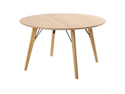 Stůl VENER fi 80 - dubová deska