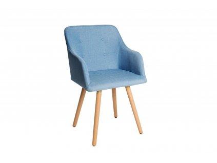 Židle SCANDINAVIA modrá