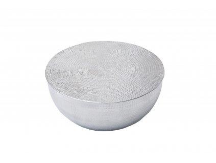 Stolek HUMMER stříbrný