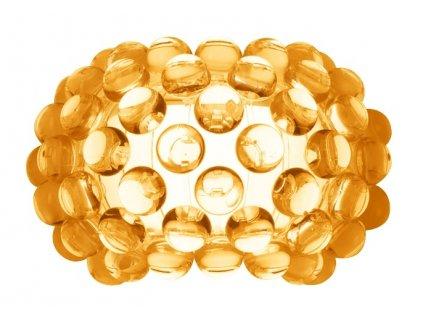 Nástěnná lampa ARIA amber wall - jantarová barva