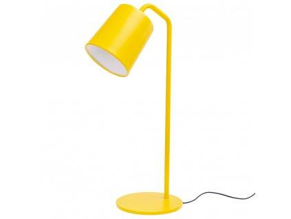 Kancelářská lampa FLAMING TABLE žlutá