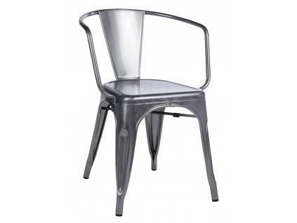 Židle TOWER ARM kovová
