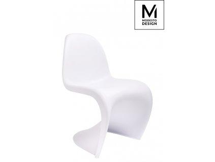 MODESTO židle HOVER bílá - polypropylén
