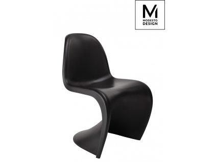 MODESTO židle HOVER černá - polypropylén