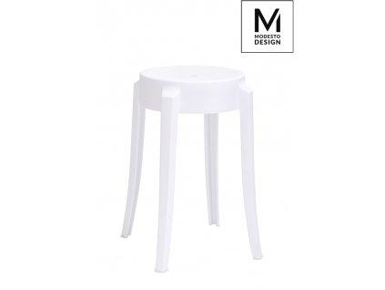 MODESTO stolek CALMAR 46 bílý - polypropylén