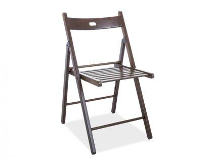 Židle SMART ii tmavý ořech