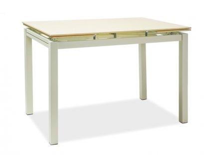 Stůl TURIN krémový 110x74