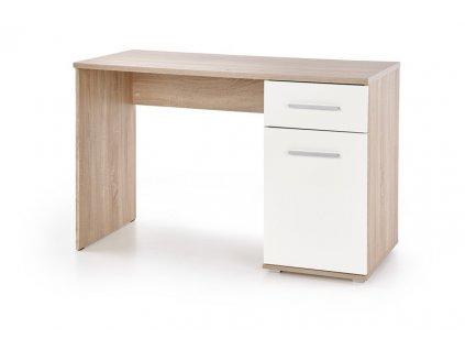 LIMA B-1 psací stůl dub sonoma / bílý