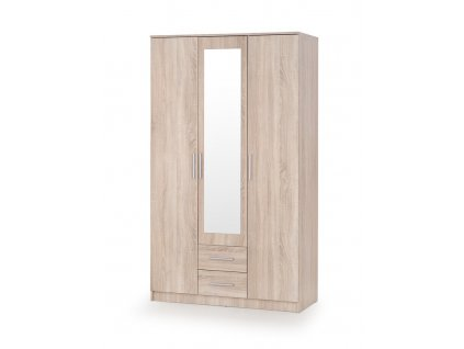 LIMA Z-3 skříň dub sonoma / zrcadlo