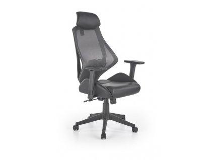 HASEL kancelářské křeslo černé / šedé