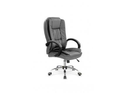 RELAX kancelářské křeslo šedé