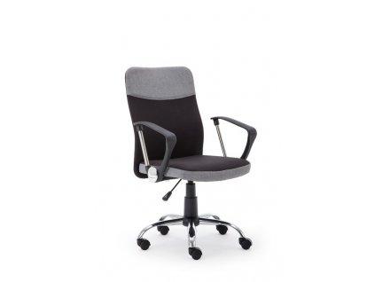 TOPIC kancelářské křeslo černo - šedé