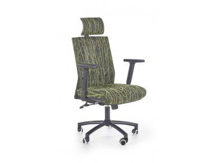 TROPIC kancelářské křeslo černo-zelené