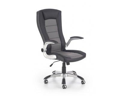 UPSET kancelářské křeslo černé / šedé