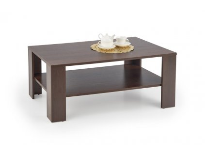 KVADRO stolek tmavý ořech