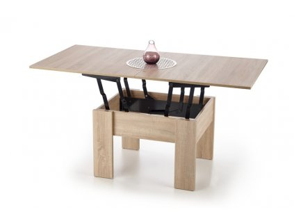 SERAFIN nízký stolek barva dub sonoma