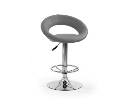 H15 barová židle šedá