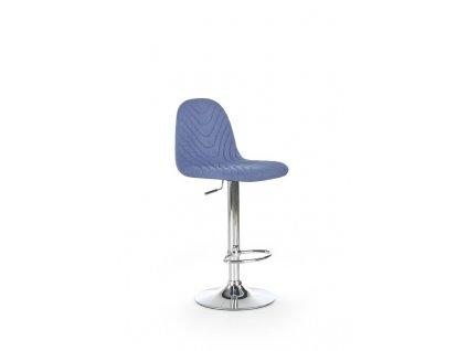 H82 barová židle tmavě modrá