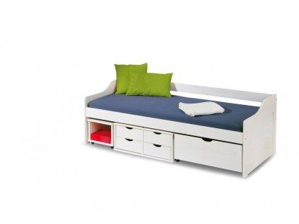 FLORO 2 postel bílá