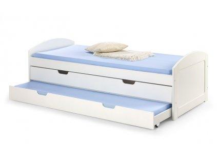 LAGUNA 2 postel bílá
