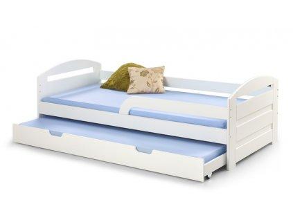 NATALIE 2 postel bílá
