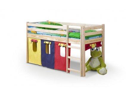 NEO - patrová postel s matrací - olše (1ks=5p.)