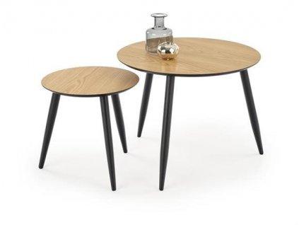 RELIANT sada: stůl + 4 židle, barva: old vasion / coffee