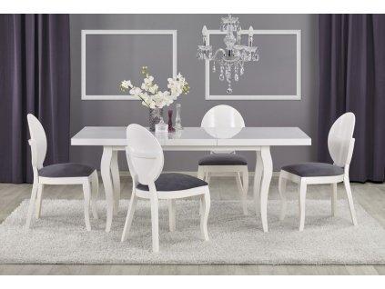 MOZART 140-180/80 stůl bílý