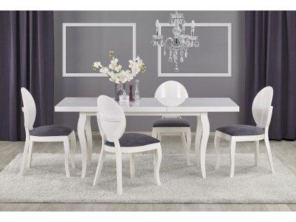 MOZART 160-240/90 stůl bílý