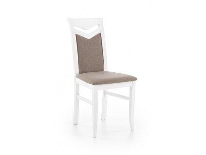CITRON židle bílá / polstrování: inari 23