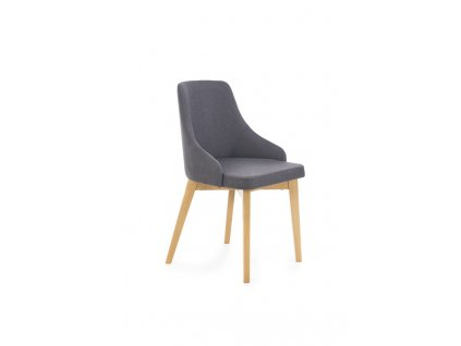 TOLEDO židle dub velbloudí / polstrování: inari 95 (tmavý antracit)