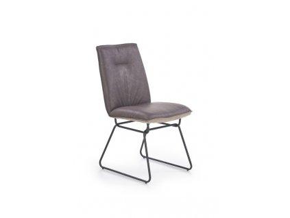 K270 židle tmavě šedá