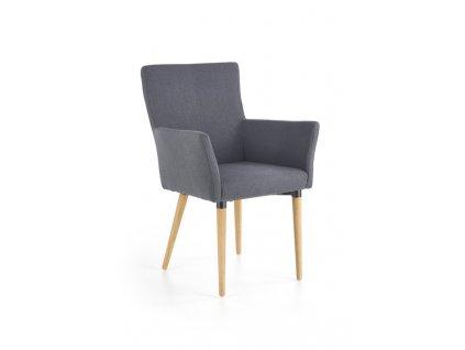 K274 židle tmavě šedá