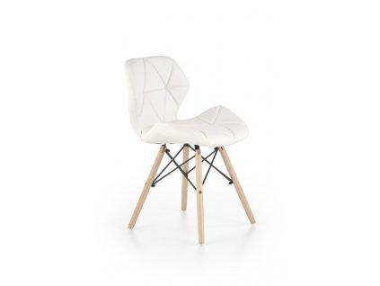 K281 židle bílá / buk