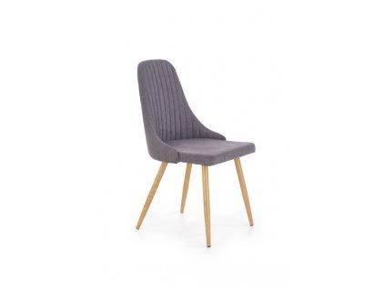K285 židle tmavě šedá