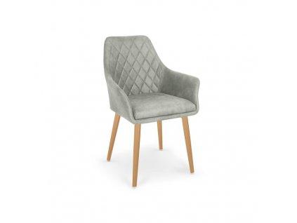 K287 židle šedá