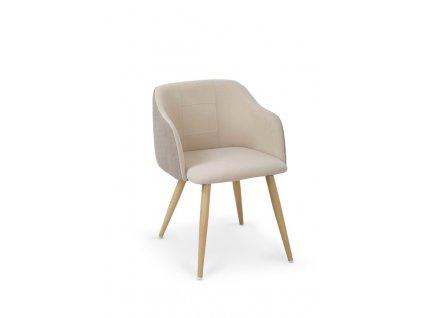K288 židle světle hnědá / béžová