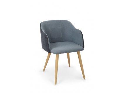 K288 židle tmavě modrá / modrá