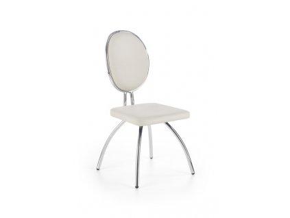 K298 židle světle šedá / antracitová