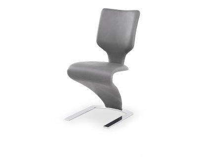 K301 židle světle šedá / béžová