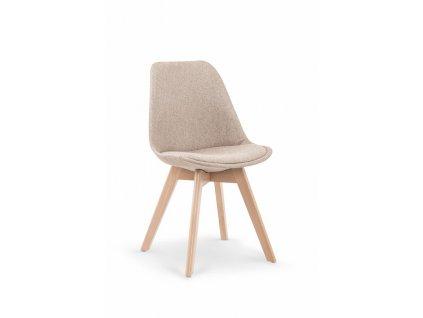 K303 židle béžová / buk