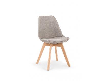 K303 židle světle šedá / buk